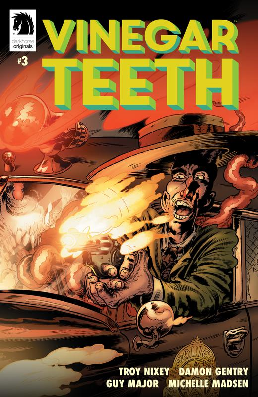 Vinegar Teeth #1-4 (2018) Complete
