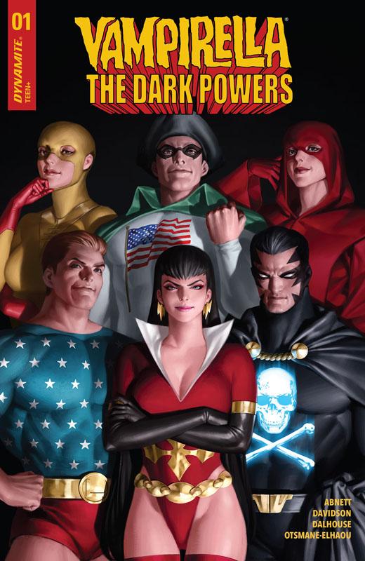 Vampirella - The Dark Powers #1-5 (2020-2021)