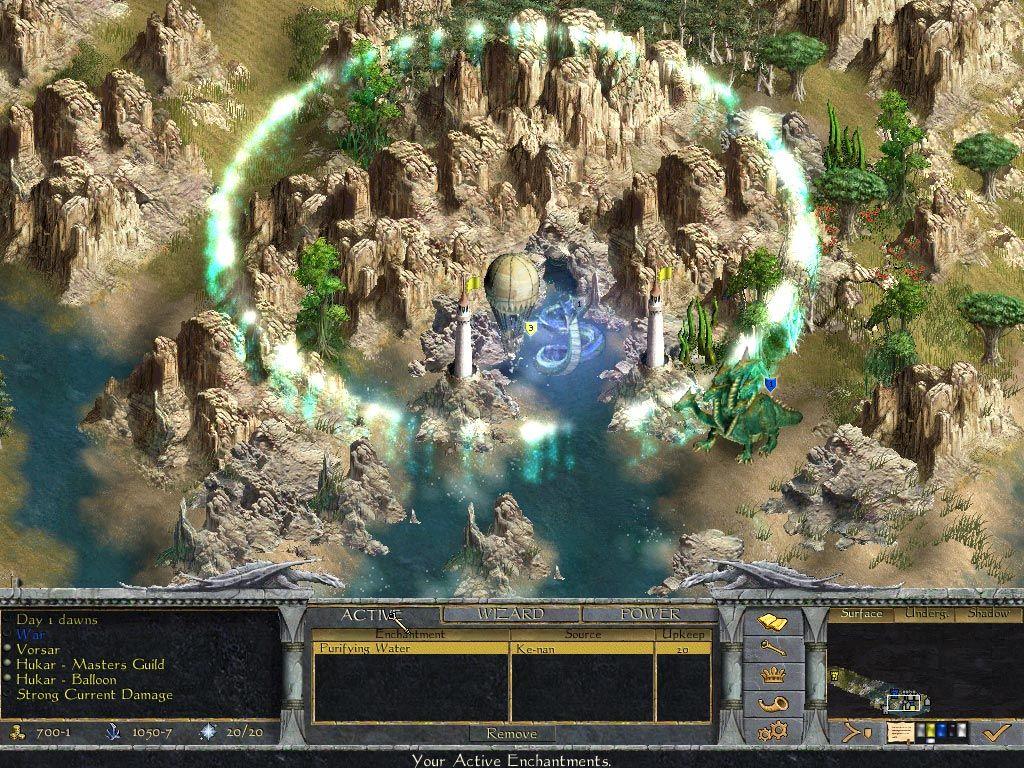 Age of Wonders: Shadow Magic Captura 2