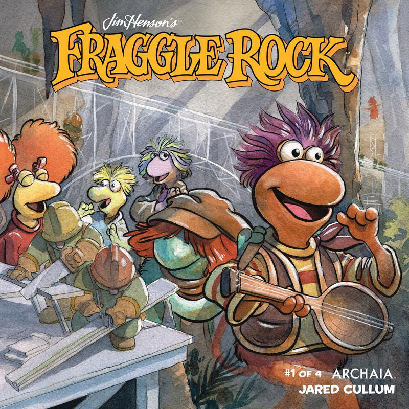 Jim Henson's Fraggle Rock #1-4 (2018) Complete