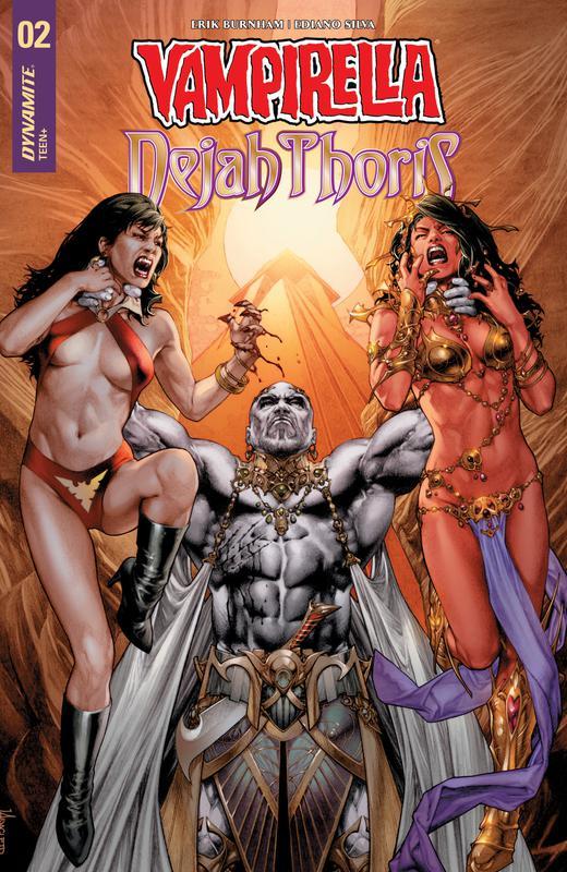 Vampirella - Dejah Thoris #1-5 (2018-2019)