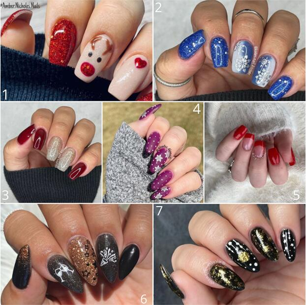 Double Dips Introduce The Top 7 Winter Nail Trends for 2021