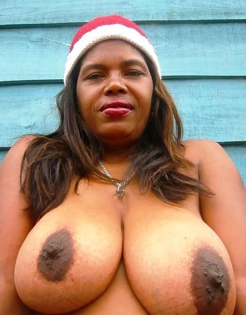 Big black tits sex-9065