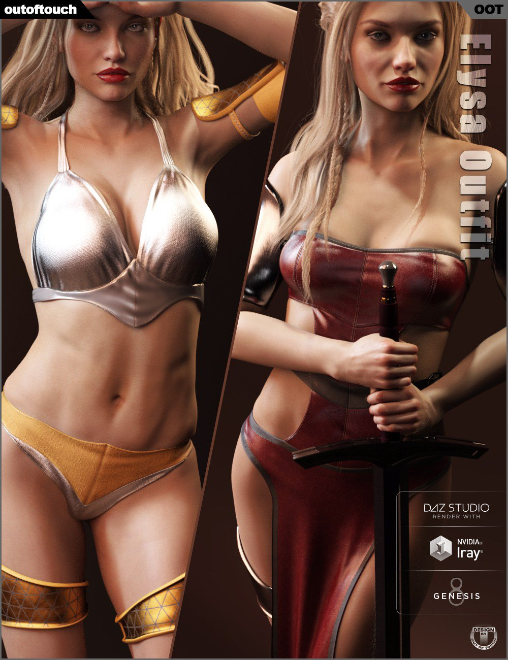 Elysa Outfit for Genesis 8