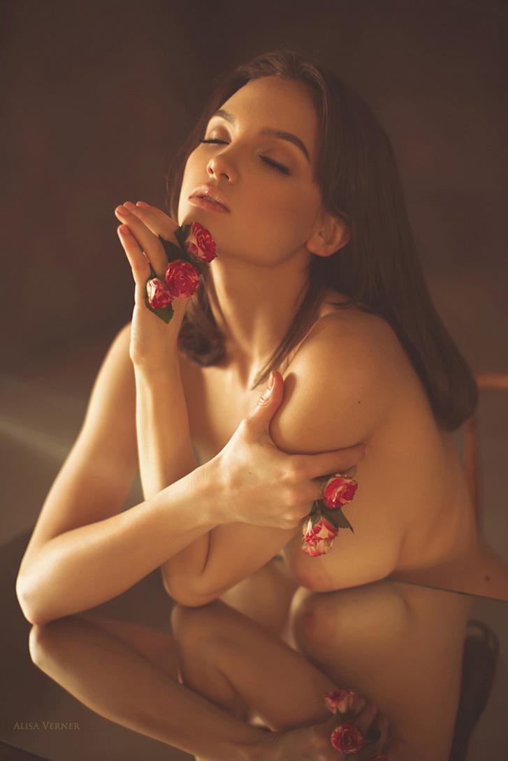 Маша Демина / Maria Demina nude by Alisa Verner