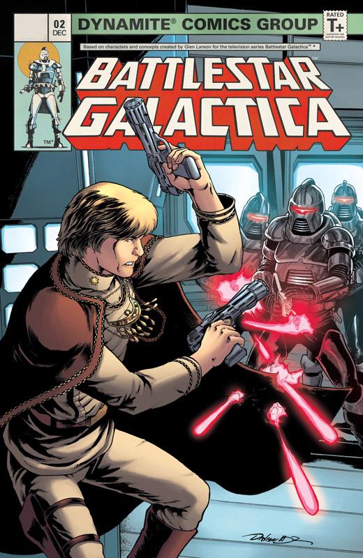 Battlestar Galactica (Classic) Vol.4 #0-5 (2018-2019)