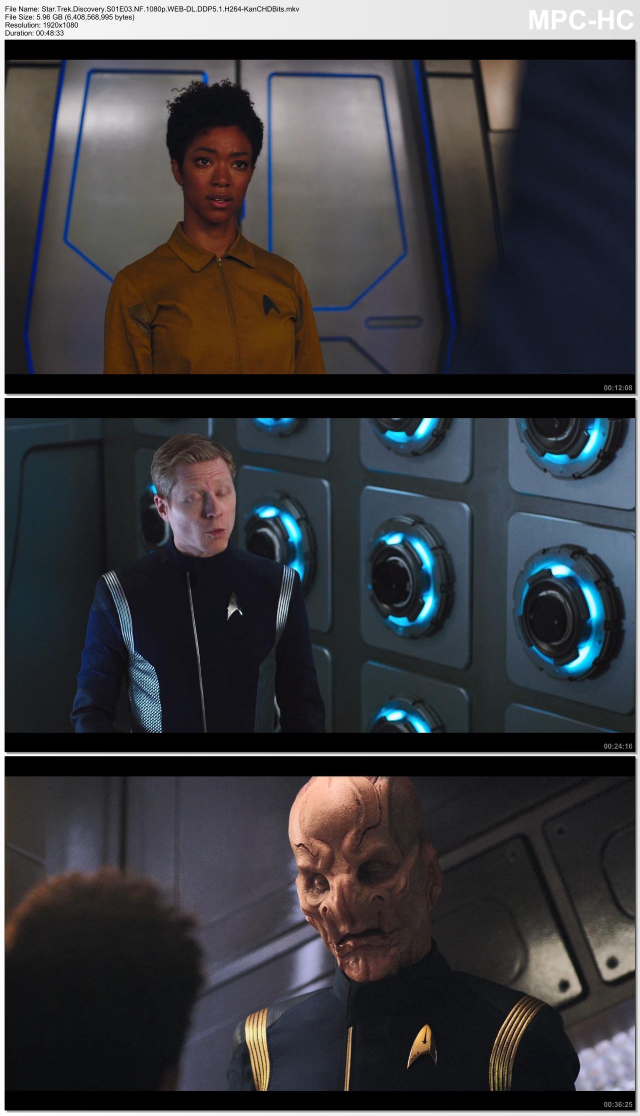 Star Trek Hành Trình Khám Phá - Star Trek Discovery S01- S03 2017-2020 1080p WEB-DL DDP5.1 x264 screenshots