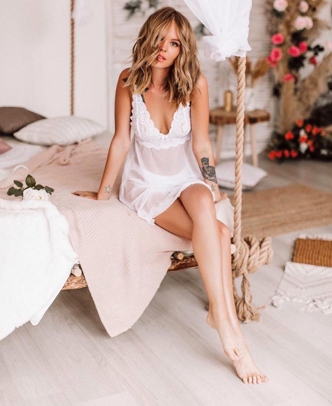Анастасия Щеглова в нижнем белье торговой марки MissX / фото 38