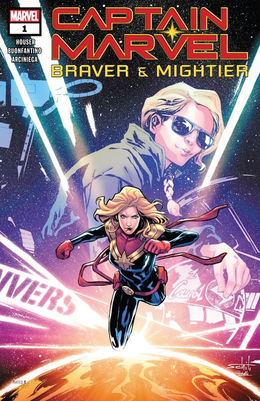 Captain Marvel - Braver & Mightier 001 (2019)