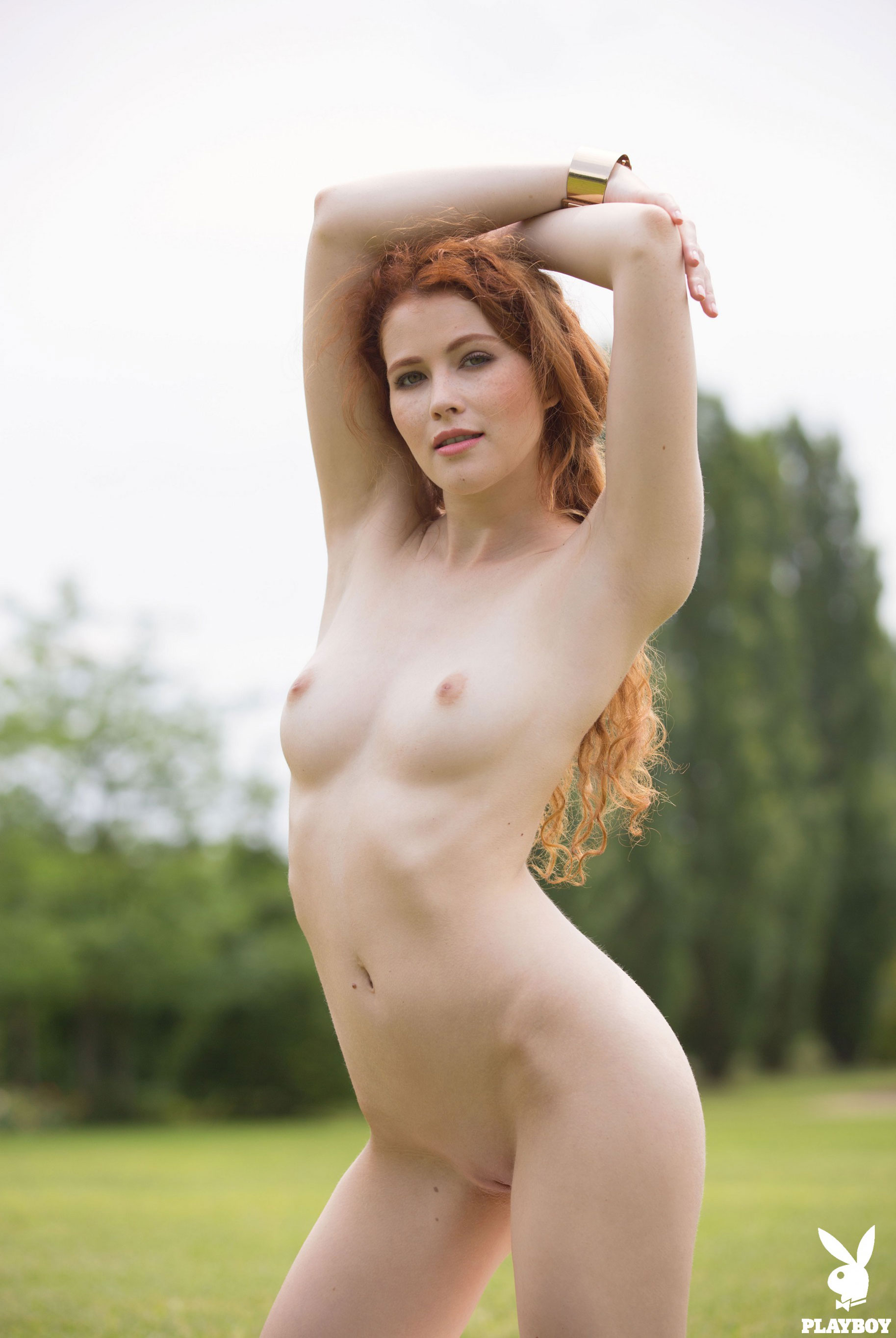 Играем в гольф с сексуальной Хейди Романовой / Heidi Romanova nude by David Merenyi / PlayboyPlus
