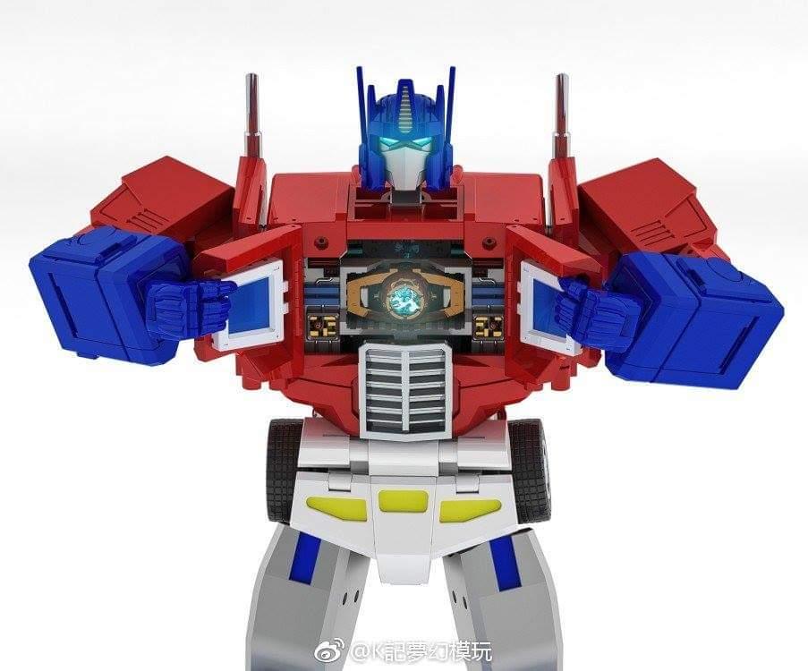 [KFC Toys] Produit Tiers - PC-14 Raijin + PC-15 Grand Raijin + P-16 Raiju - aka Ginrai (Powermaster Optimus) + Remorque de Ginrai + Godbomber = God Ginrai (TF Masterforce) NtqS1UMI_o