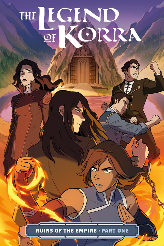 The Legend of Korra - Ruins of the Empire Part #1-3 (2019-2020)