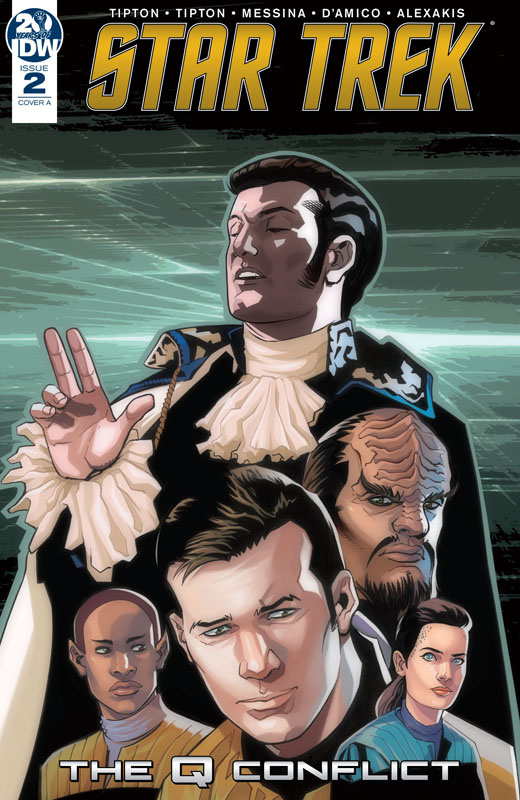 Star Trek - The Q Conflict #1-3 (2019)