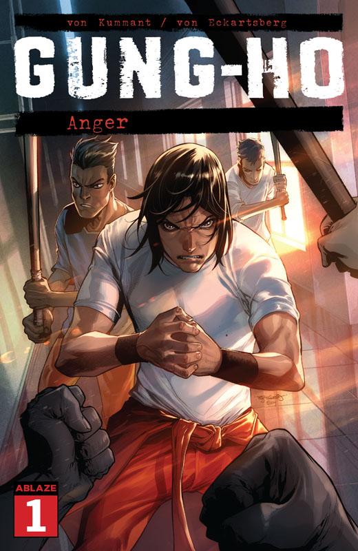 Gung-Ho - Anger #1-4 (2021)