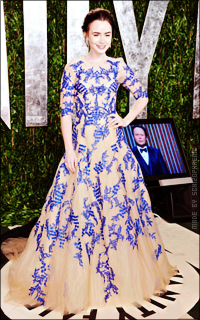 Lily Collins H0znEohY_o