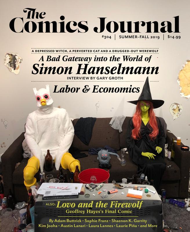 The Comics Journal 303-305 (2019-2020)