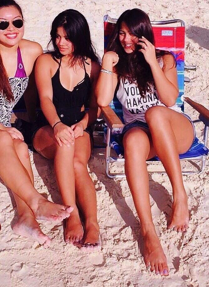 Lesbian long toes-4314