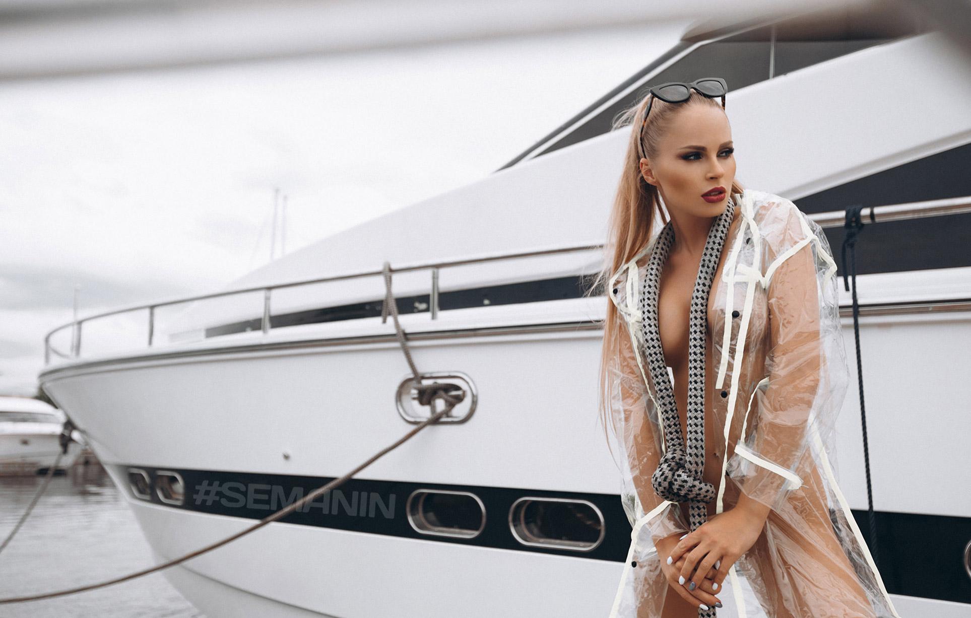 Надя Катаева - сексуальный капитан корабля / фото 01