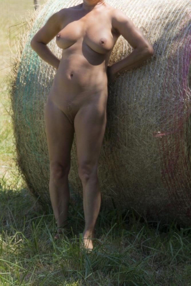 Milf naked in public-3979