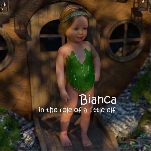 [Starkers] Bianca Elf