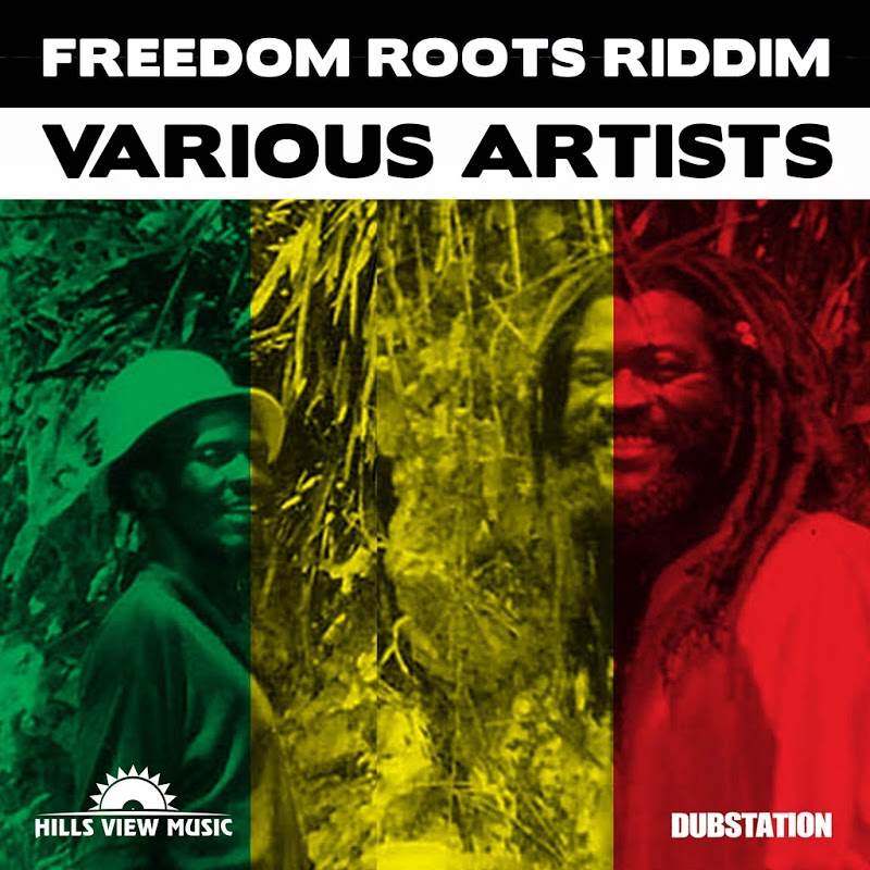 Poster for Freedom Roots Riddim