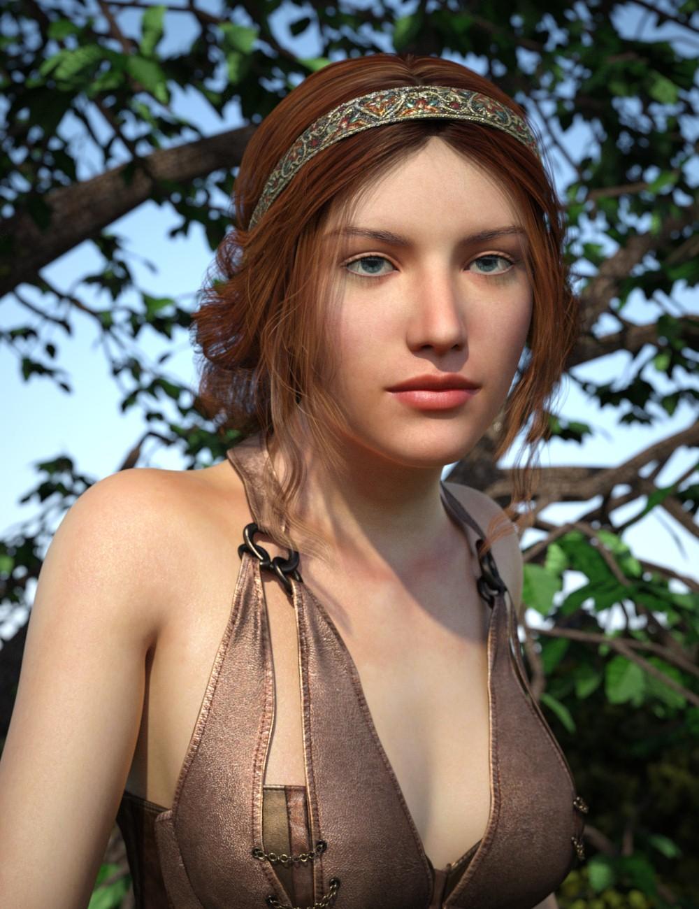 GeeGee Hair for Genesis 8 Female(s)