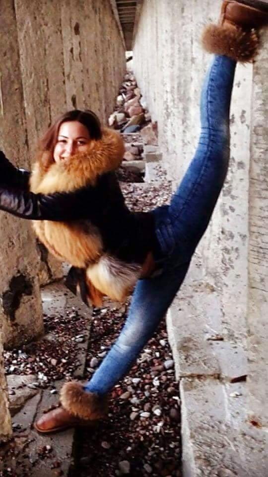 Jean jacket with fur inside-9372