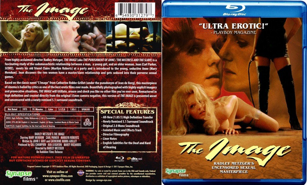 Punishment of Anne, The / Image, The / L' Image / The Mistress And The Slave / Образ (Radley Metzger, Catalyst Films / Les Films du Griffon) (РУССКАЯ ОЗВУЧКА) [1975 г., Erotic, Drama, BDRip] (Rebecca Brooke (as Mary Mendum), Marilyn Roberts, Val