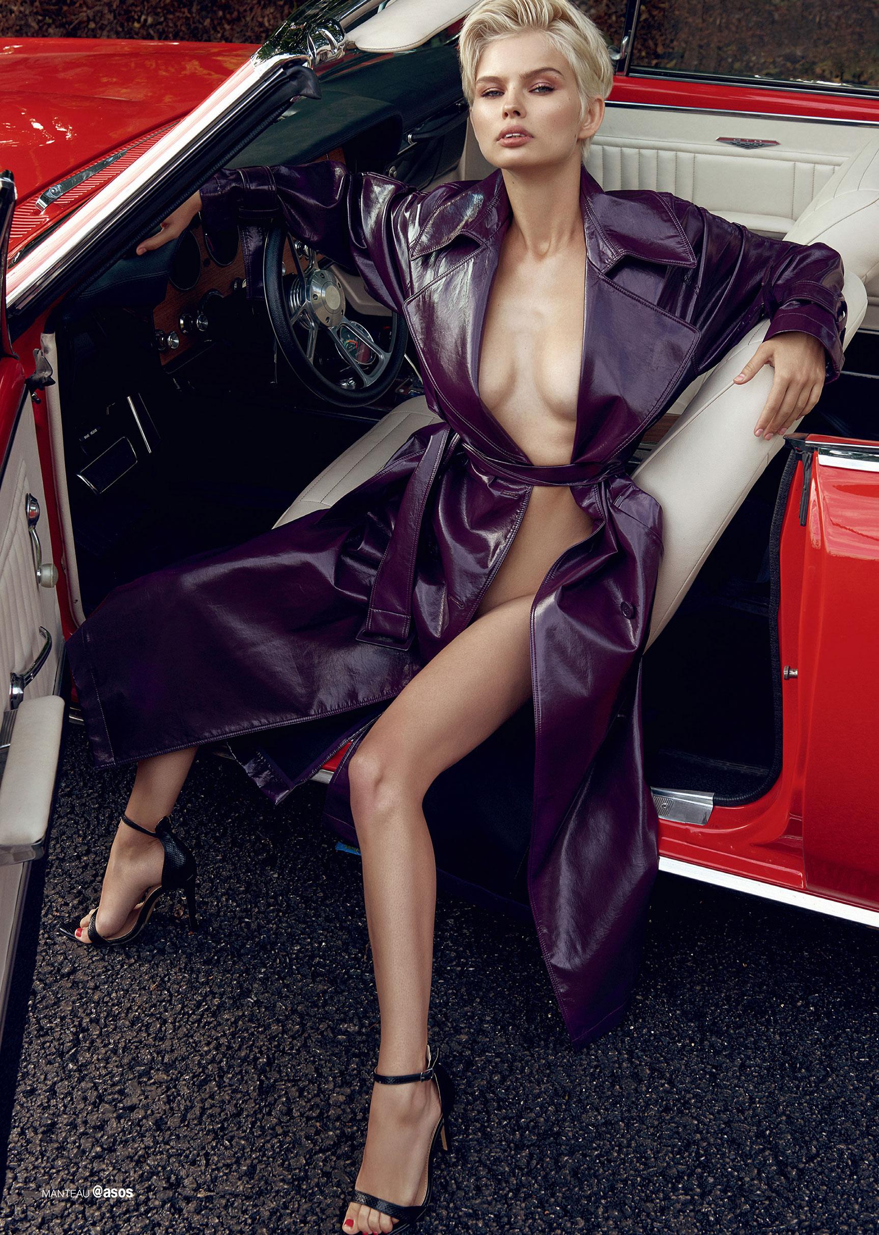 сексуальная полуголая Юлия Логачева в журнале Maxim Франция / фото 05