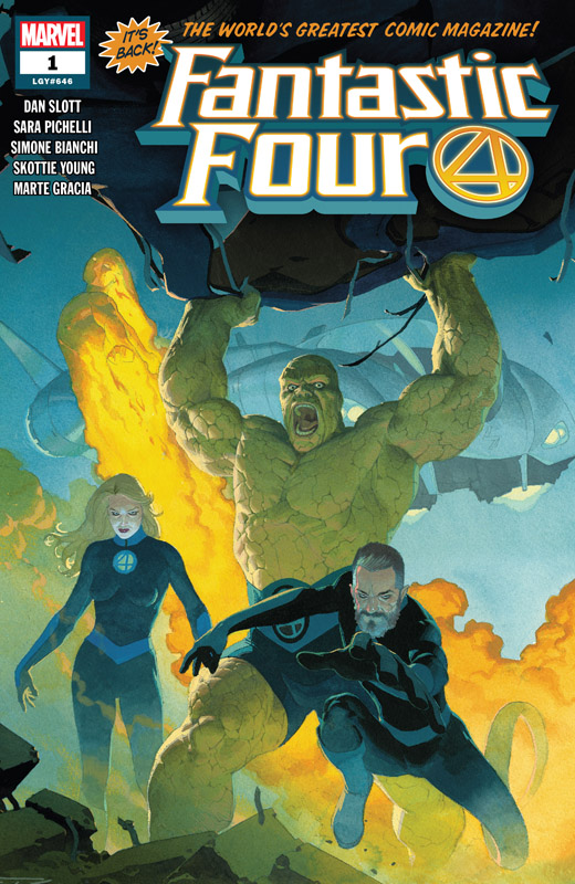 Fantastic Four Vol.6 #1-13 + Specials (2018-2019)