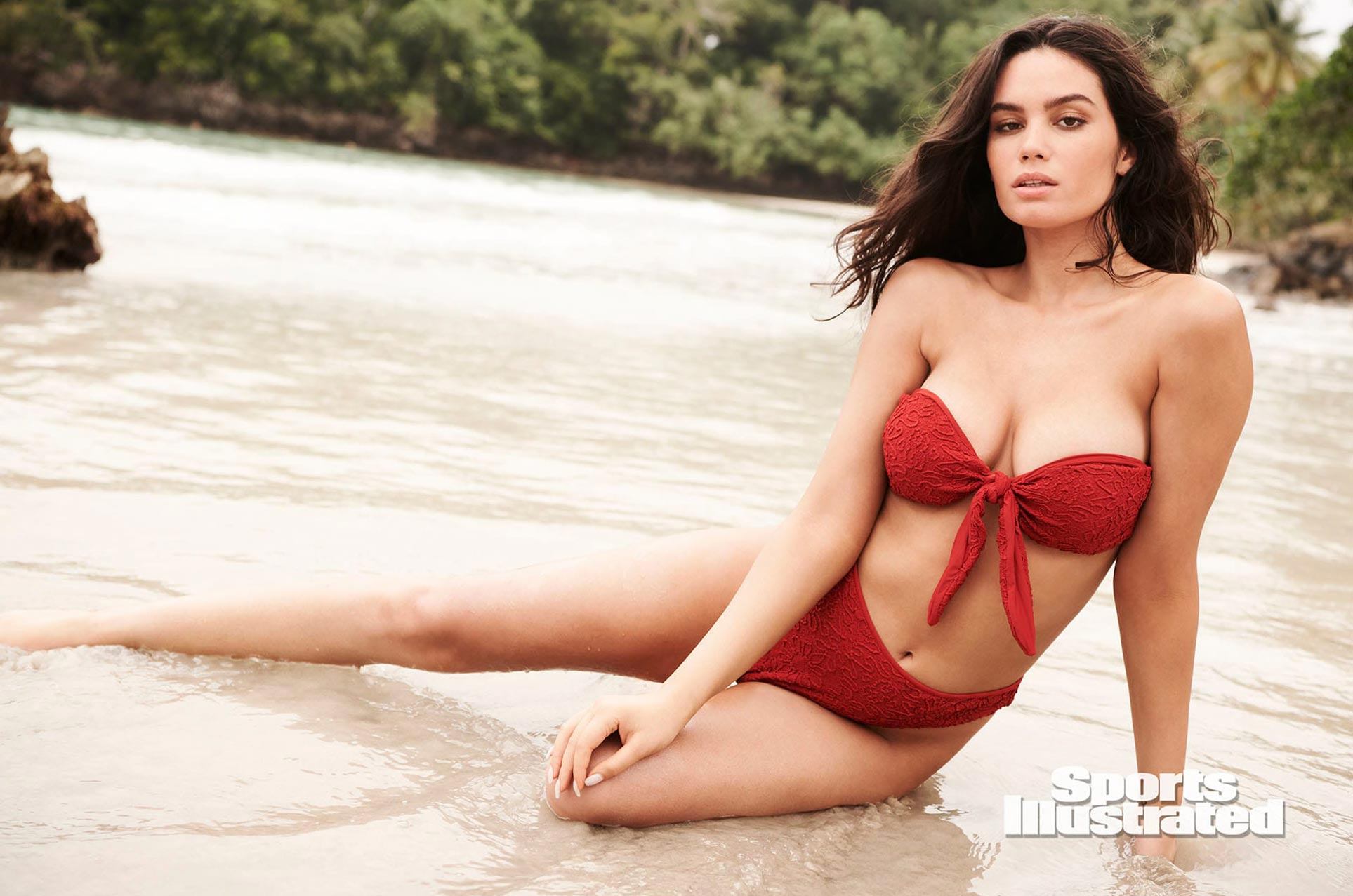 Энн де Паула в каталоге купальников Sports Illustrated Swimsuit 2020 / фото 10