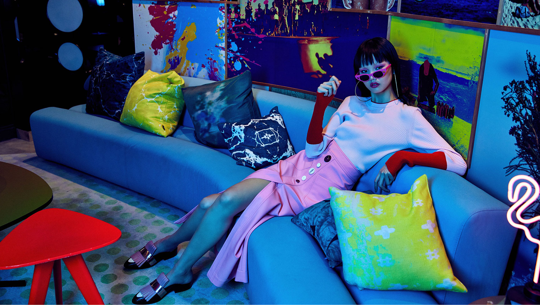 Neo-Wave / Fuya Oli by Jeremy Choh / Grazia Australia summer 2018