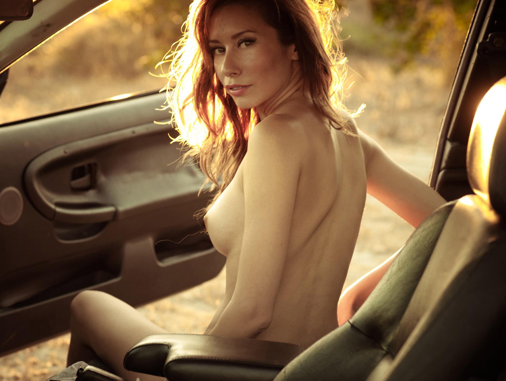 Leena nude by Mortonovich / Naked Magazine