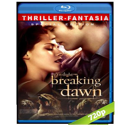 descargar Crepusculo 4 Amanecer Parte 1 720p Lat-Cast-Ing[Thriller](2011) gratis