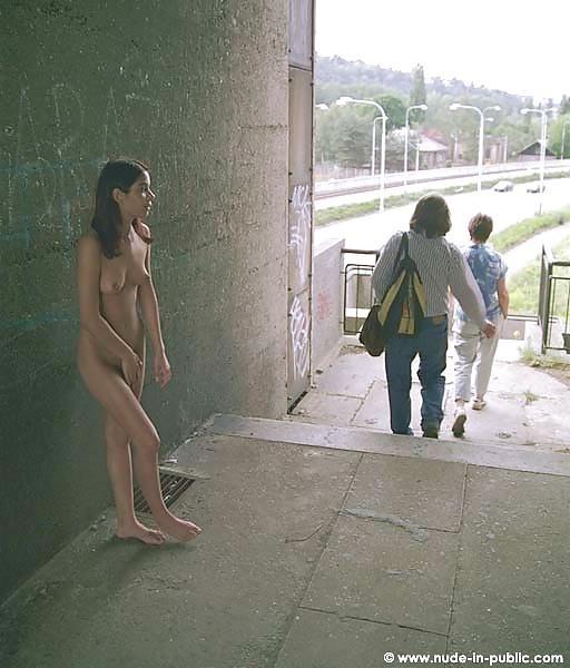 Amateur women naked in public-6726
