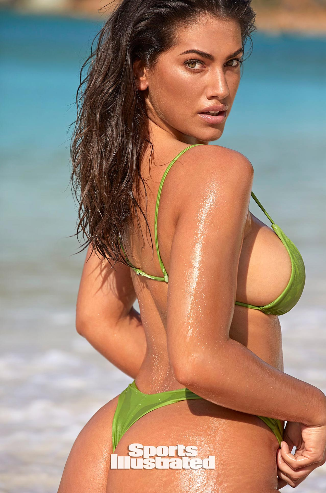 Лорена Дюран в каталоге купальников Sports Illustrated Swimsuit 2020 / фото 04