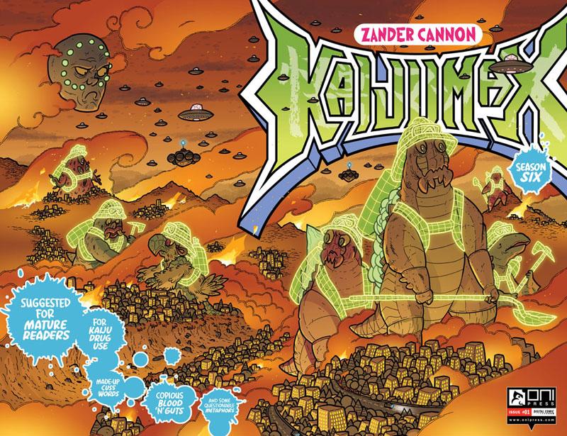 Kaijumax - Season Six #1-4 (2021)