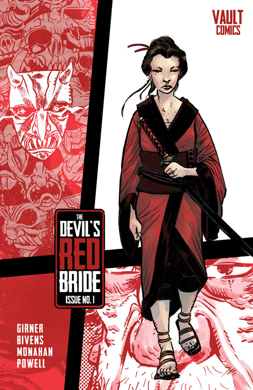 The Devil's Red Bride #1-4 (2020-2021)
