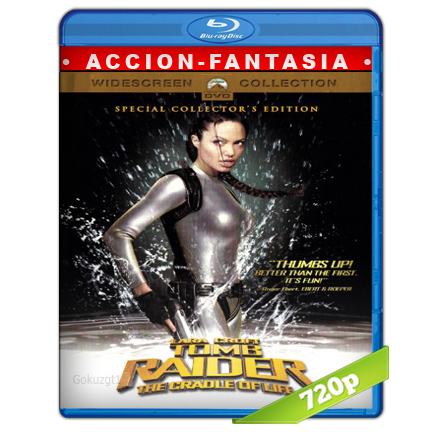 descargar Lara Croft Tomb Raider 2 720p Lat-Cast-Ing[Accion](2003) gratis