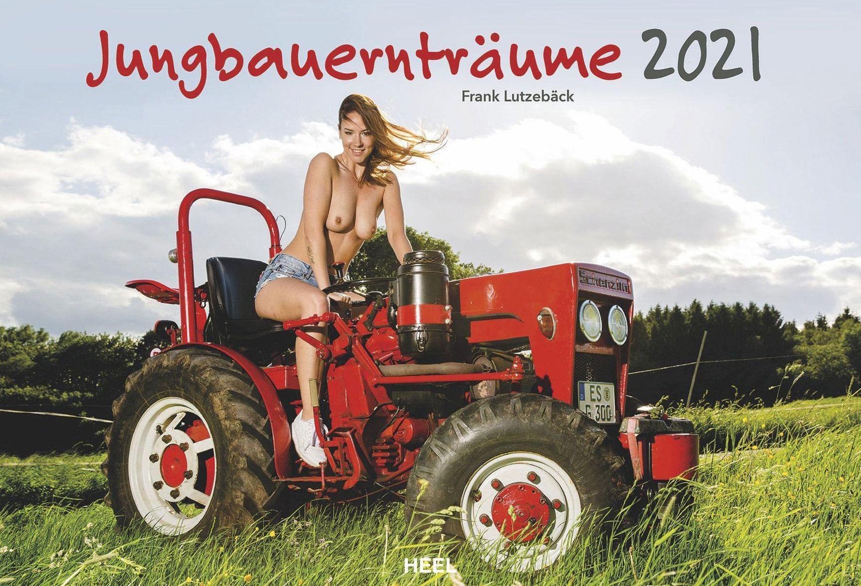 Эротический календарь -Мечты молодых фермеров 2021- / обложка