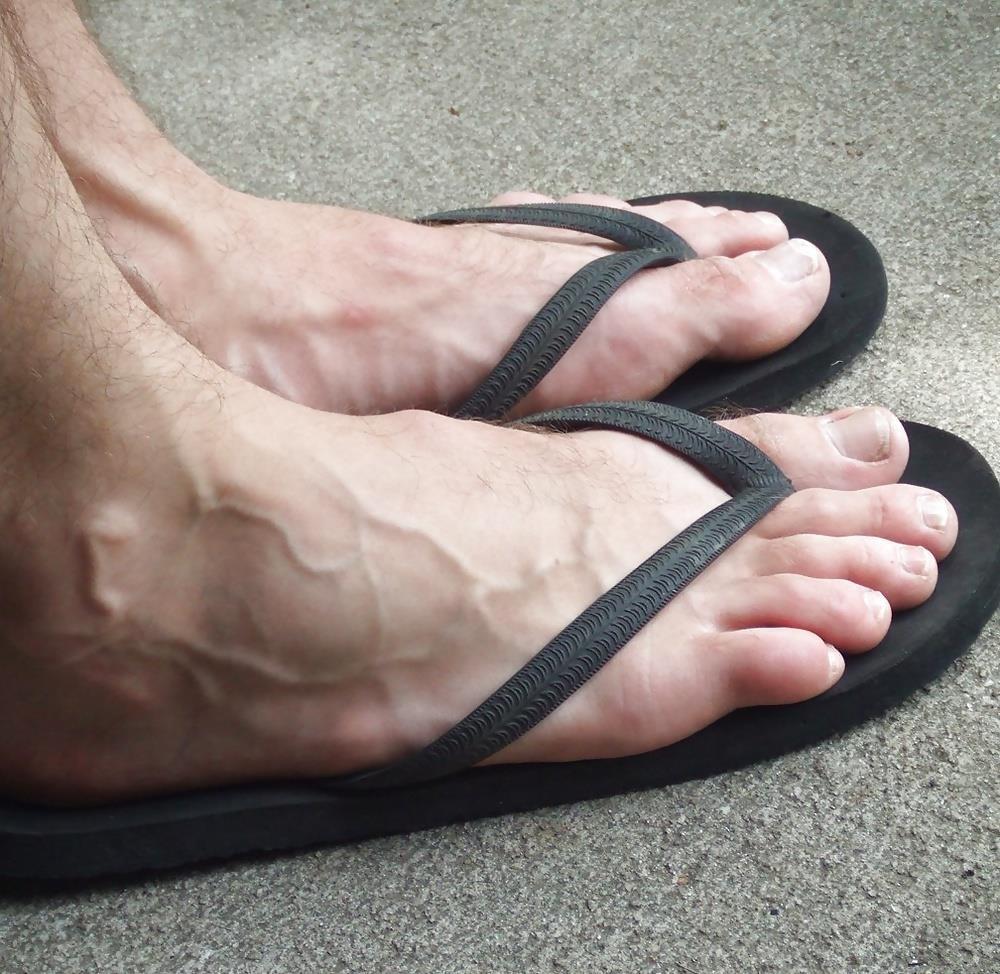 Gay feet hairy-6633