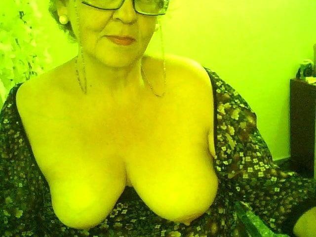 Chubby granny webcam-5716