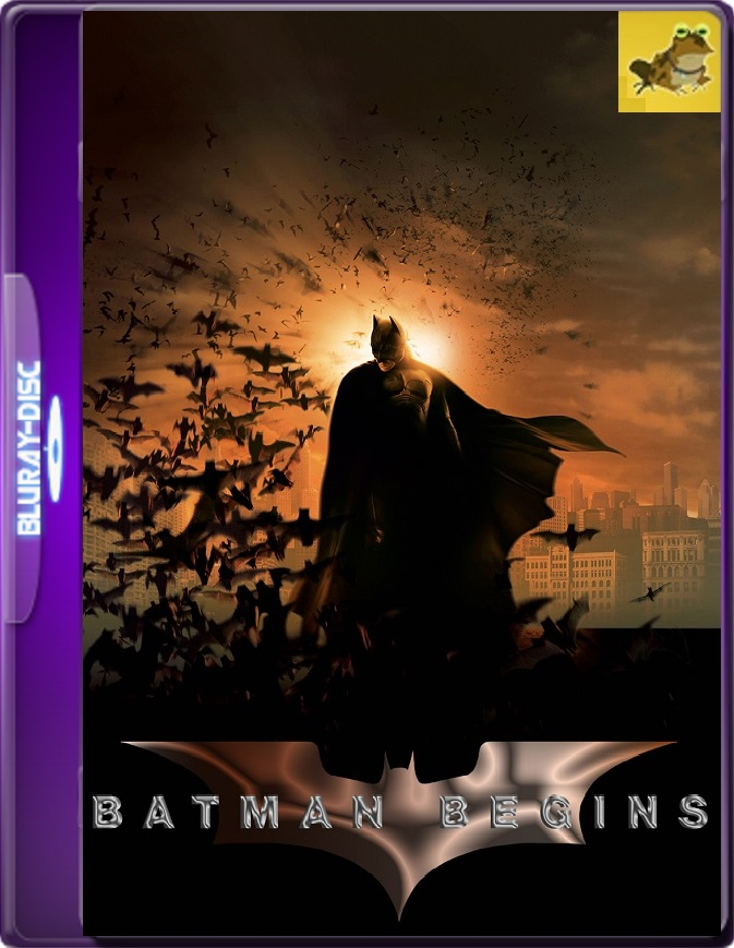 Batman: Inicia (2005) Brrip 1080p (60 FPS) Latino / Inglés