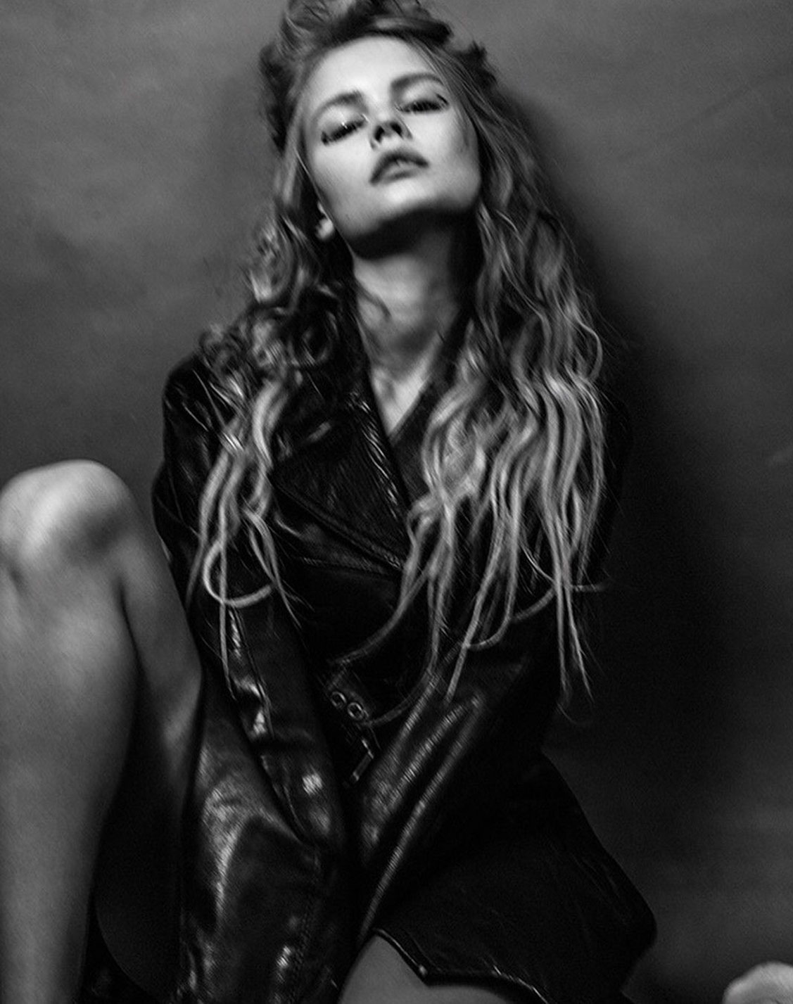 Anastasiya Scheglova by Nika Baeva