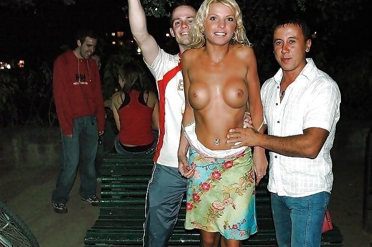 Nude busty public-7736