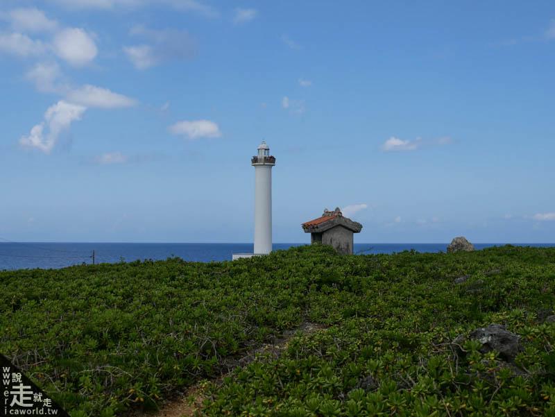 殘波岬燈塔與西之神之屋
