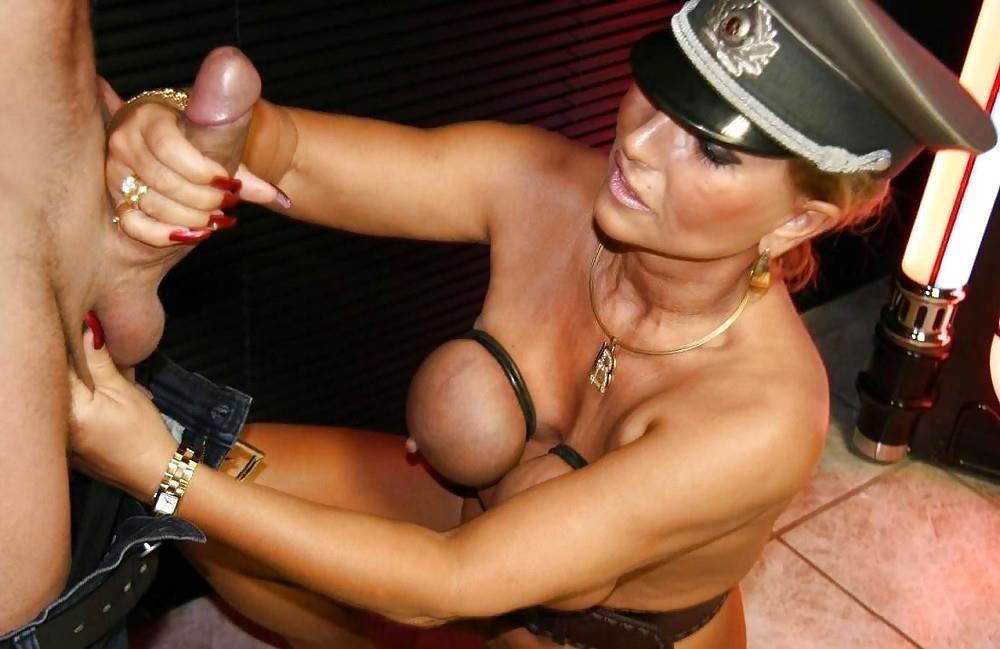 Mistress milking slave-7131