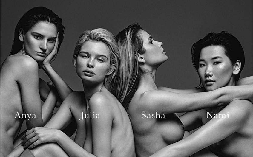 Аня Шрамко, Юлия Логачева, Саша Смит и Нами Доржиева - голые и сексуальные / фото 12