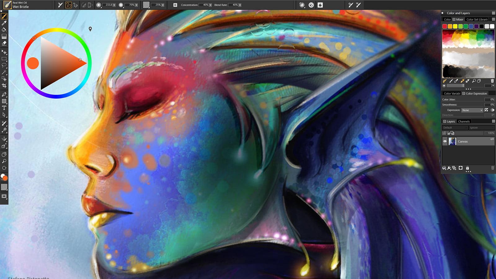 0uV4le7n_o - Corel Painter 2019 19.0.0.427 [Arte Digital] [x64] [UL-NF-U4E] - Descargas en general