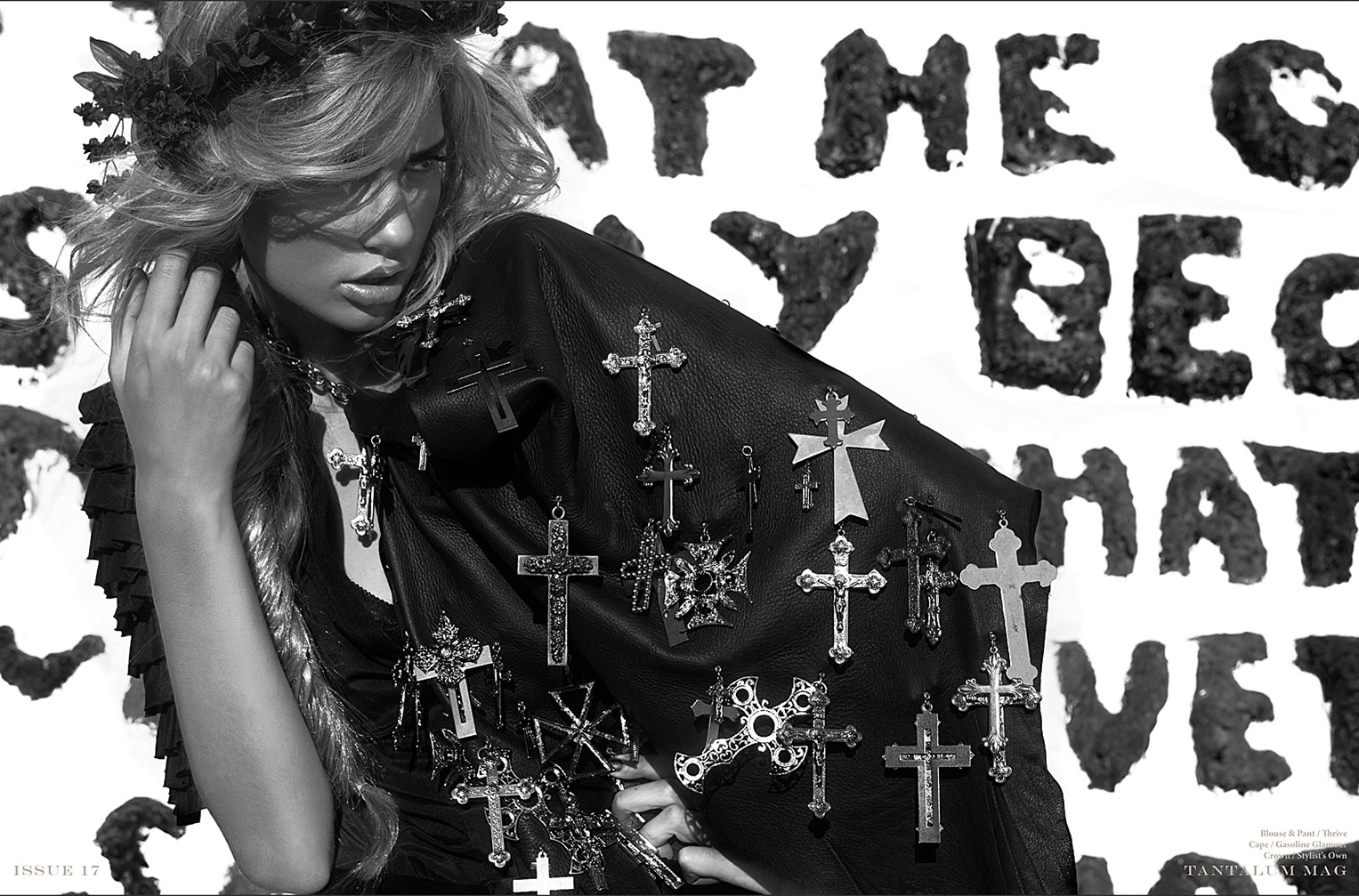 The Salvation of Eve / Klara Kassman by Bryan Kong / Tantalum Magazine january 2013